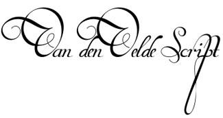 Van den Velde Script Pro