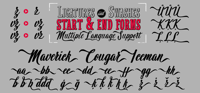 Wingman font family – nine fonts that co-exist perfectly