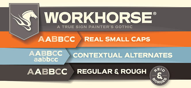 Workhorse font