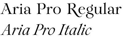 Aria Pro