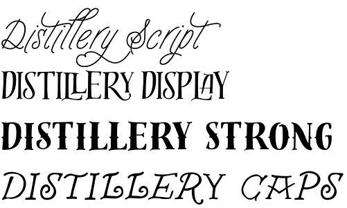 Distillery font