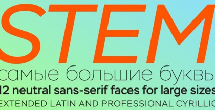 Stem font