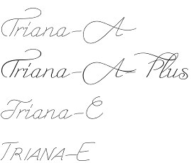Triana Font The New Elegant Font From Wiescher Design