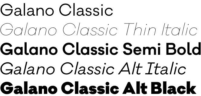 Galano Classic