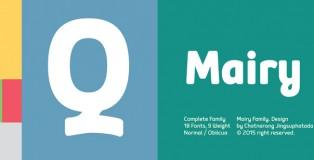 Mairy font