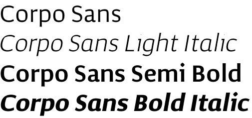 Corpo Sans