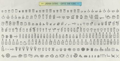 Jabana font collection