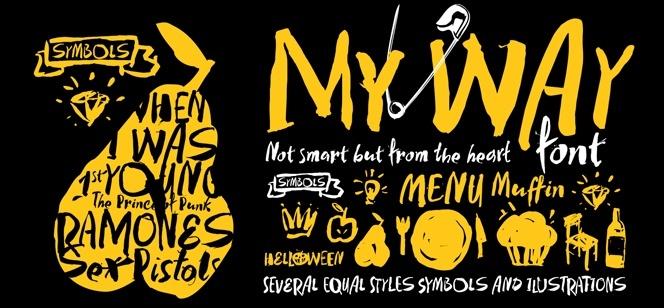 My Way font