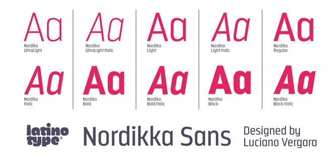 Nordikka font