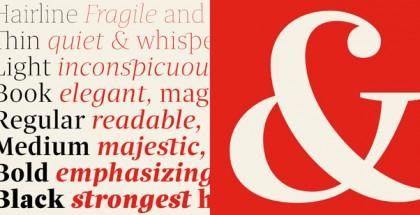 Quercus Serif font