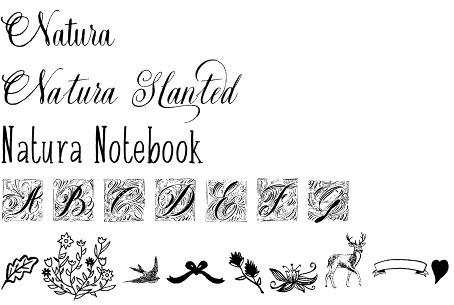 Natura font