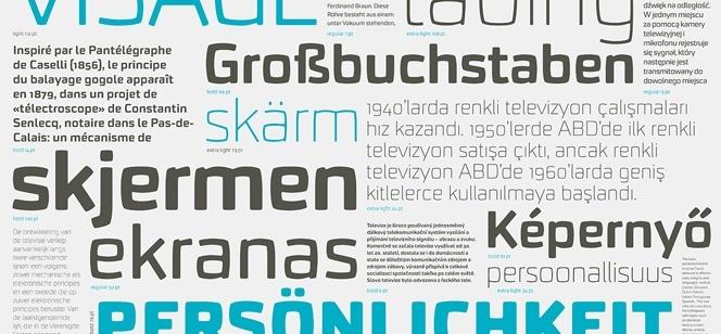 Taca font