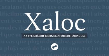 Xaloc font family