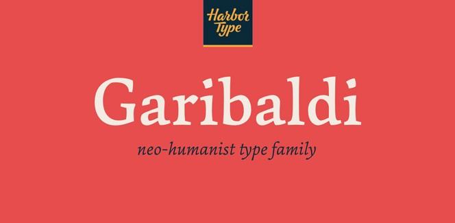 Garibaldi font