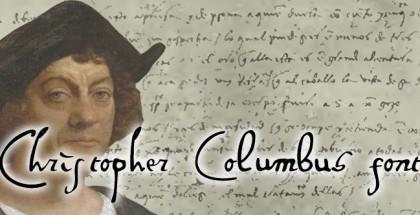 Columbus handwriting
