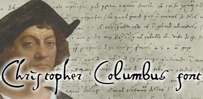 Columbus handwriting