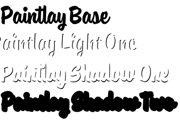 Paintlay typeface