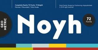 Noyh font