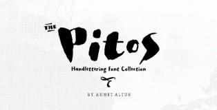 Pitos typeface