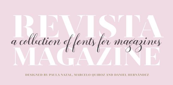 Bodoni Sans font – living classics with shot serifs