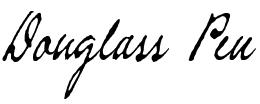 Pen typeface