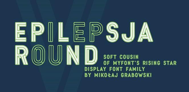 Round typeface