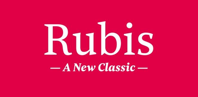 Rubis font