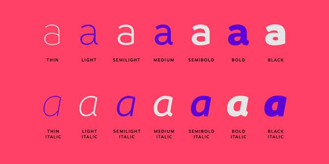 Branding typeface