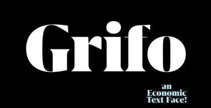Grifo font