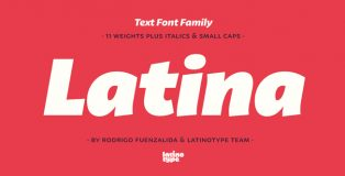 Latina font