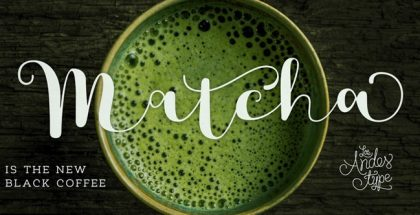 Matcha typeface