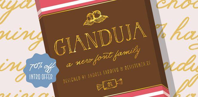 Gianduja font