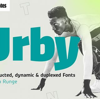 Urby typeface