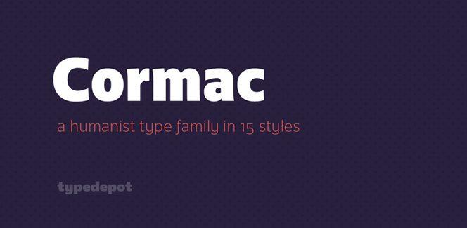 Cormac font