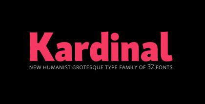 Kardinal typeface
