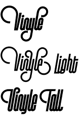 Vinyle typeface