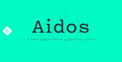 Aidos typeface