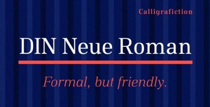 roman typeface